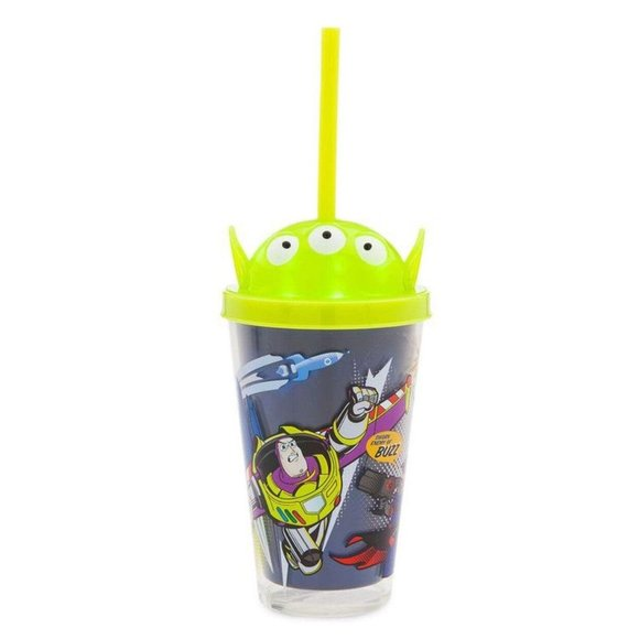 NEW! Disney Store Buzz Lightyear Alien Tumbler